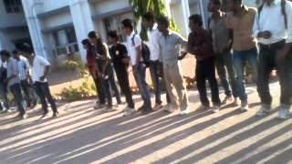 team h b s stunts show at nri college gwalior