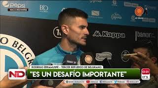 Rodrigo Erramuspe, el nuevo refuerzo de Belgrano
