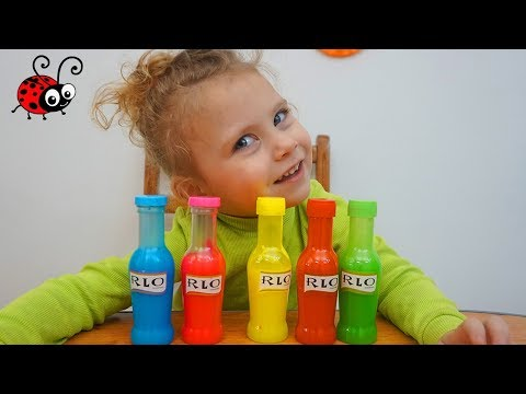 Slime Colorat | Invatam Culorile | Learn Colors With Slime | Video For Kids