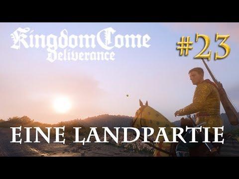 Let's Play Kingdom Come Deliverance #23: Eine Landpartie (Tag 22 / Blind / deutsch)