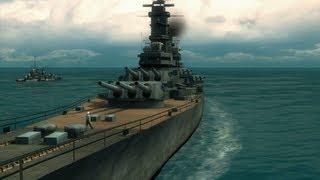 "Battlestations: Midway. Singleplayer mission ""Raid on Truk"" HD"