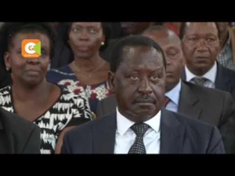 David Mwiraria amezikwa nyumbani kwake Meru