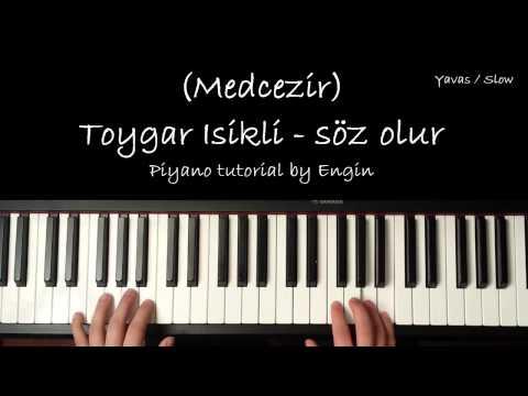 Medcezir Mira 29.Bolum piyano Tutorial (Toygar isikli- Soz olur)