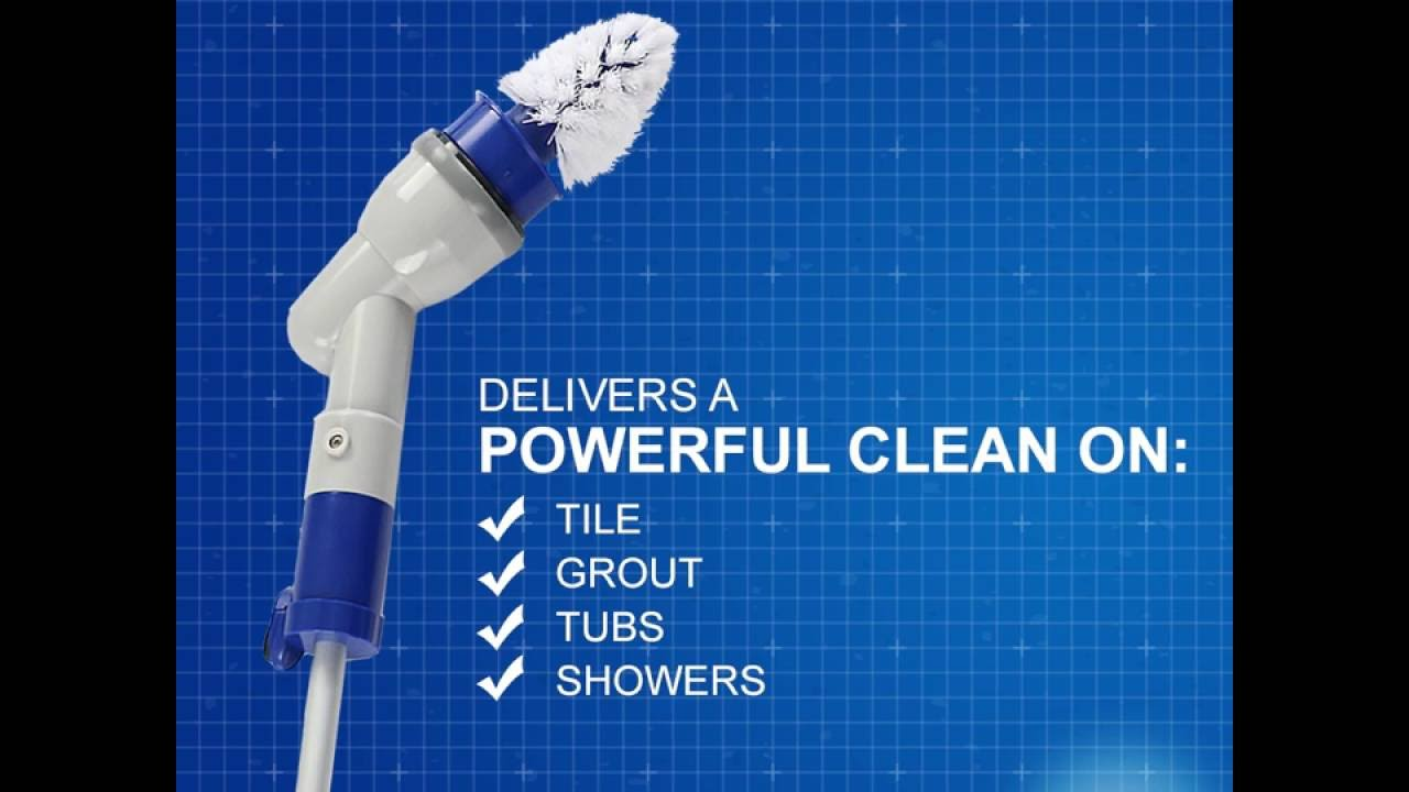 quickie tub n tile power scrubber youtube