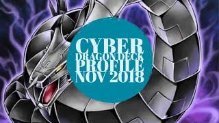 Yu-Gi-Oh! BEST COMPETITIVE Cyber Dragon Deck Profile November 2018