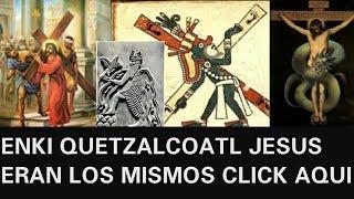 ENKI ERA REPTILIANO Y SE CONVIRTIO EN QUETZALCOATL LUEGO EN JESUCRISTO Y JURO VOLVER thumbnail