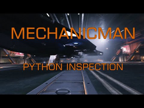 Elite Dangerous - MechanicMan's ship inspections and maintenance - Python
