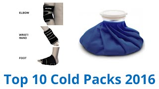 10 Best Cold Packs 2016