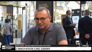 L'innovation chez GEBERIT : rencontre avec Pierre Aknine, Directeur de la prescription