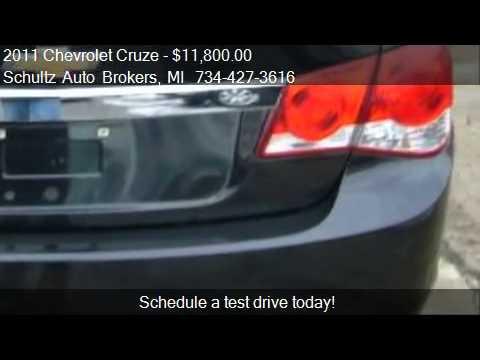 2011 Chevrolet Cruze Eco for sale in Livonia, MI 48150 at Sc