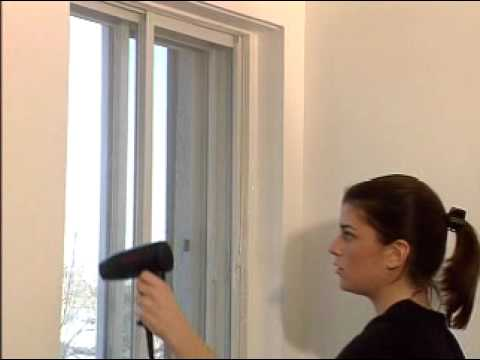 winter window insulation kit installation youtube. Black Bedroom Furniture Sets. Home Design Ideas
