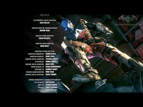 Batman: Arkham Knight - End Credits
