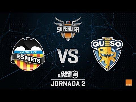 SUPERLIGA ORANGE - VALENCIA CF ESPORTS VS TEAM QUESO - Jornada 2 - #SuperligaOrangeCR2