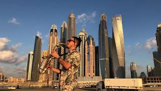 Crazy Saxophone in Dubai (Arthur Mauzer) New 2019 Resimi