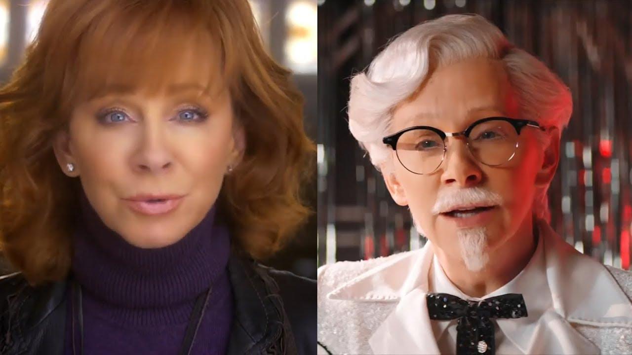Watch Reba McEntire Perform As KFC's First Female Colonel Sanders