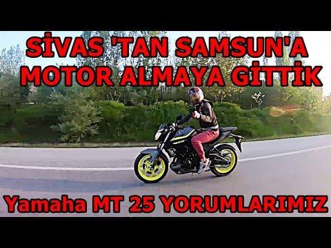 Sahibinden Üzerinden Tanışıp Yamaha MT 25 Almaya Gittik