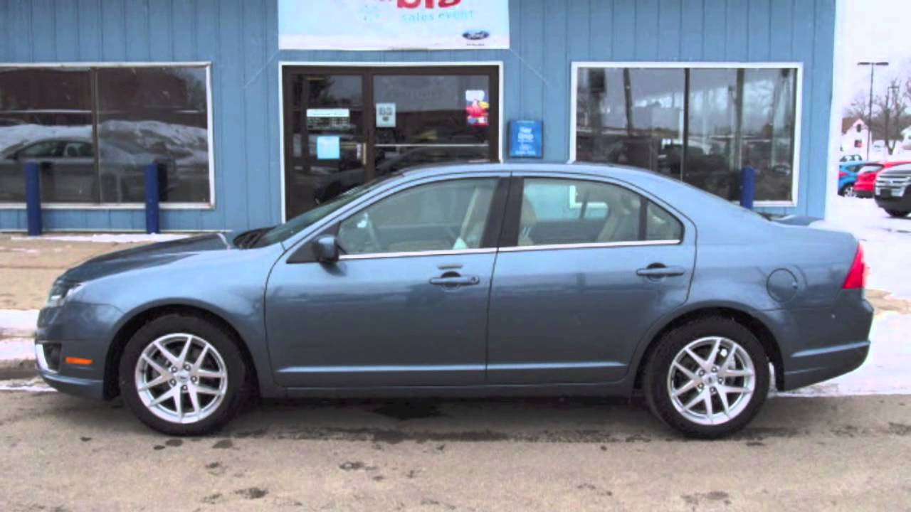 2012 Ford Fusion Sel Steel Blue Metallic Call For