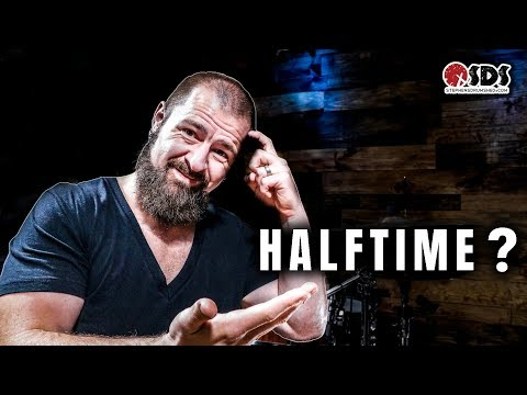 How To Play Halftime Drum Beats | DRUM LESSON