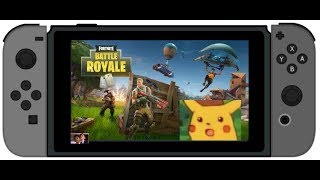 Fortnite for Nintendo Switch in Portable Mode IS IT REALLY HARD?! | IGAMER2