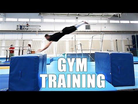 Gym Training & Trickshots | PARKOUR Vlog 77