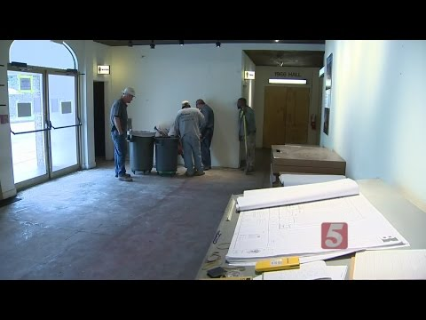 Work Continues At Belcourt Theatre