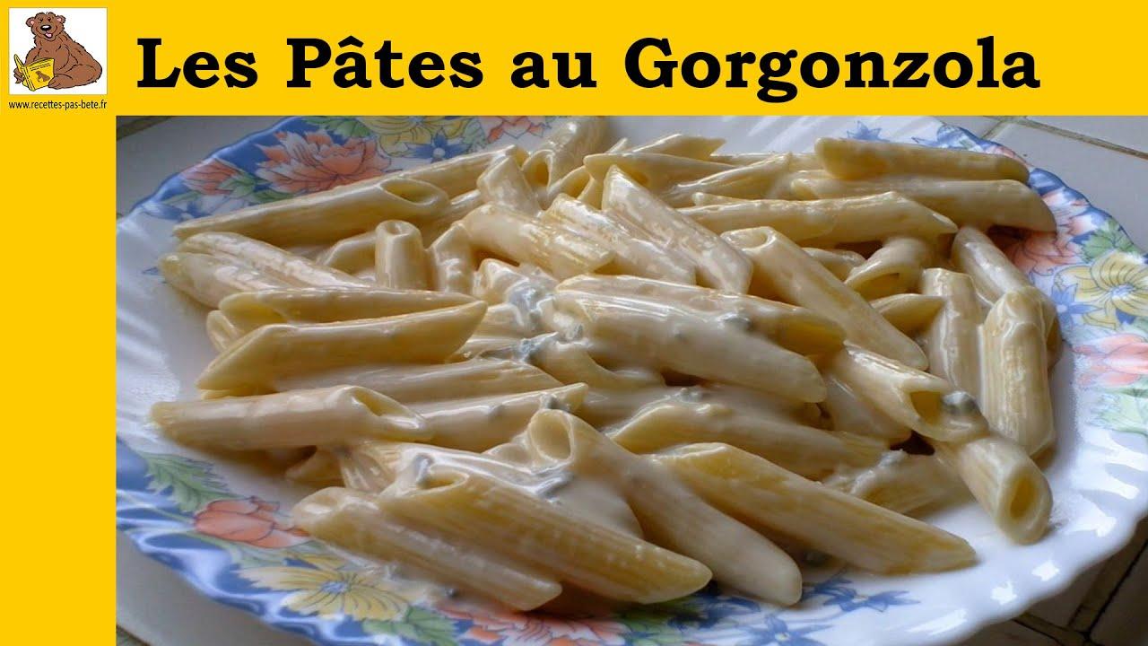 les p 226 tes au gorgonzola recette rapide et facile hd