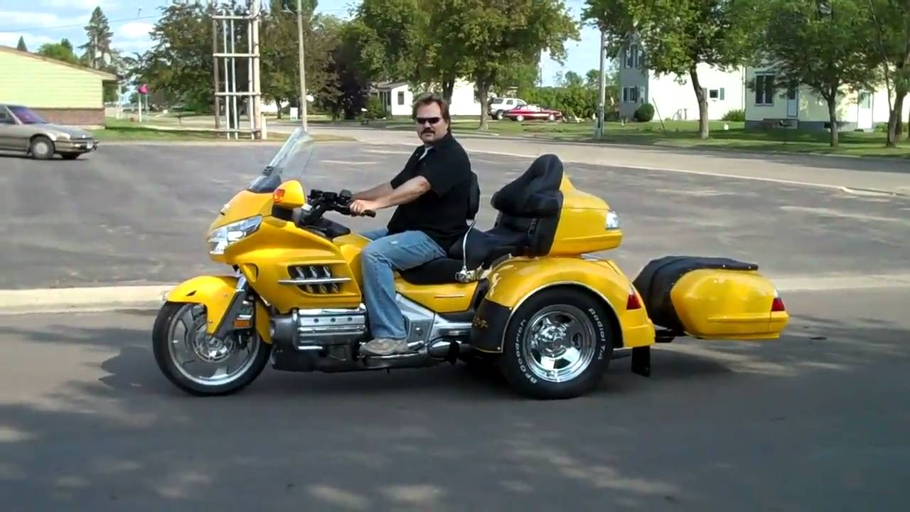 2010 Goldwing Adventure Trike with Trailer SOLD YouTube