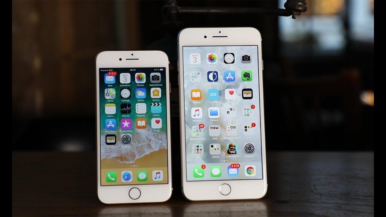 Test de l'iPhone 8 et de l'iPhone 8 Plus : deux smartphones de choc en attendant l'iPhone X