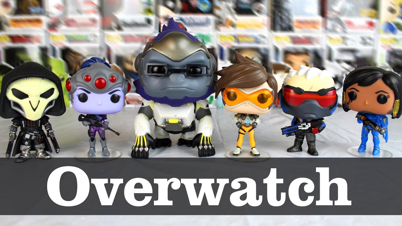 Overwatch Funko Pop Showcase Complete Set Youtube