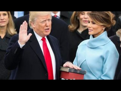 History made: Trump becomes the 45th President of the United States