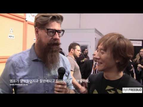 NAMM 2014 Jim Root Interview by Se-Hwang James Kim