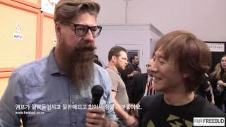 NAMM 2014 Jim Root Interview by Se-Hwang James Kim