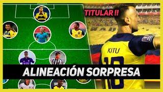 LA ALINEACIÖN para VENCER a PERÚ y CLASIFICAR !! Ecuador vs Perú COPA AMÉRICA 2021