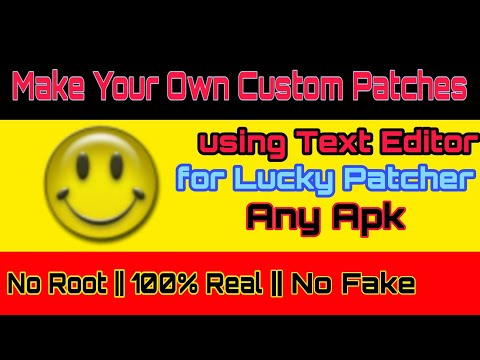 How To Make Custom Patch For Any App For Lucky Patcher( No Root Needed ) By D.K.S.