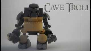 Custom LEGO The Lord of The Rings Brick-Built Cave Troll