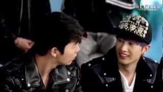 """[HD] 130110 HyukJae said """"Wo ai ni"""" to DongHae?! - EunHae"""