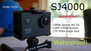 SJ4000 Sports HD DV Full Review - $80 GoPro alternative