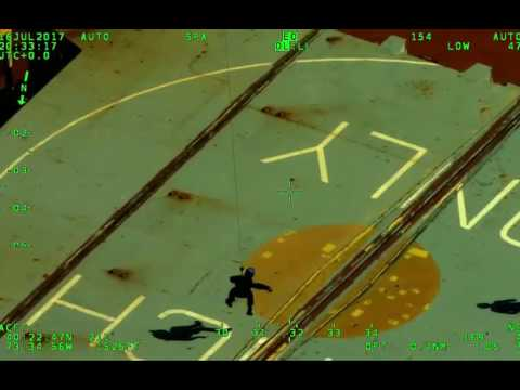 NYPD Aviation Officers Rescue Man 20 Miles Offshore