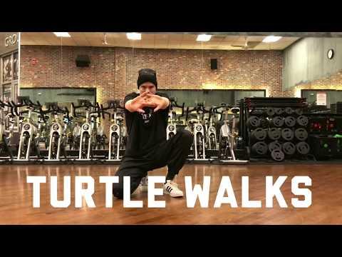 HOW TO LEARN BBOY TURTLE WALKS IN UNDER 1 MINUTE  Breakdance Powermove  With Bboy Twigg