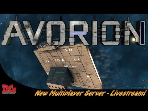 Avorion ► The Alliance Update! ► Live Streaming in the New Dedicated Server!