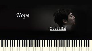 Скачать Yiruma Hope Piano Tutorial