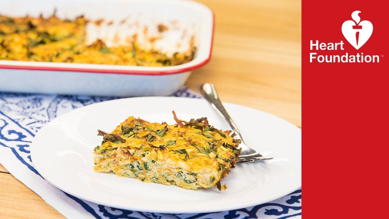 Healthy baked frittata recipe heart foundation nz youtube healthy baked frittata recipe heart foundation nz forumfinder Image collections
