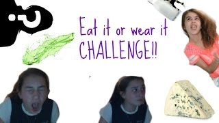 i smell like spinach   eat it or wear it challenge ft special guests