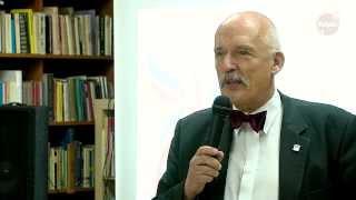 Janusz Korwin Mikke - wykład o panującym porządku na świecie - TV Pelplin HD