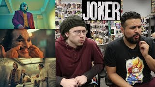JOKER - Teaser Trailer REACTION! REACTING JOKER MOVIE TRAILER! JOKER ORIGIN STORY!