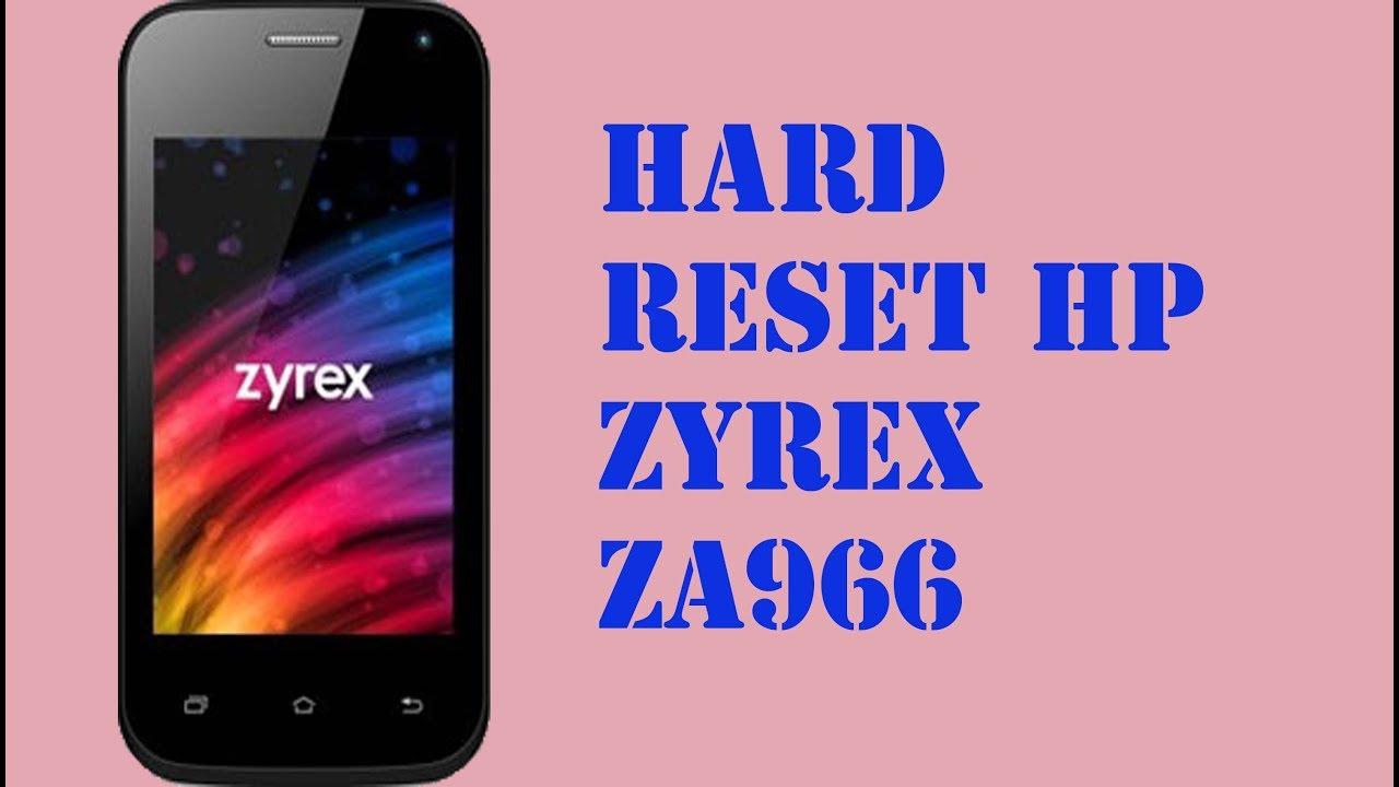 Zyrex Za966 Firmware : zyrex, za966, firmware, RESET, ZYREX, ZA966, YouTube