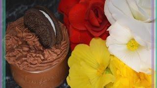 CHOCOLATE MOUSSE OREO ШОКОЛАДНЫЙ МУСС ОРЕО РЕЦЕПТ ПЕЧЕНЬЕ