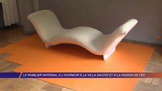 Yvelines | Le Mobilier national à l'honneur à la Villa Savoye et à la maison de fer