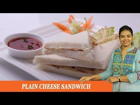 PLAIN CHEESE SANDWICH - Mrs Vahchef