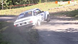 Rallye du Mont-Blanc VHC (Historic Cars) 2014 [HD] - Rallye-Start